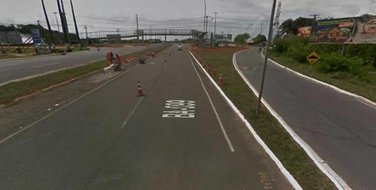 Interdição acontece na sexta-feira, 20, e na segunda, 23 - Foto: Reprodução   Google Maps