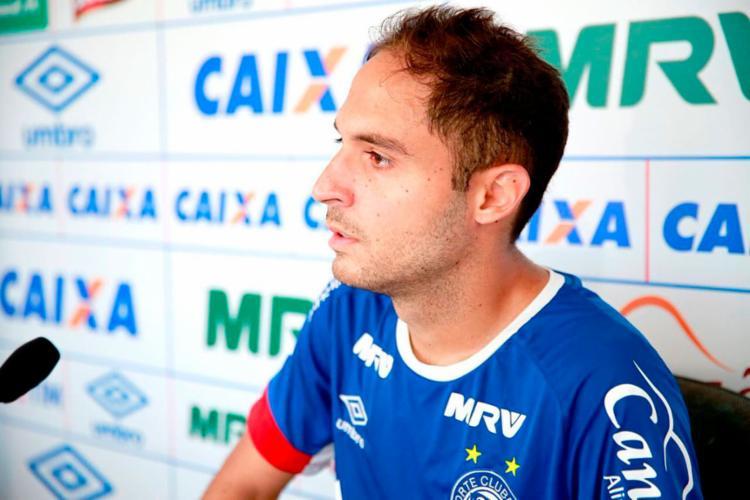 Régis foi titular nas duas partidas da Florida Cup - Foto: Felipe Oliveira | EC Bahia
