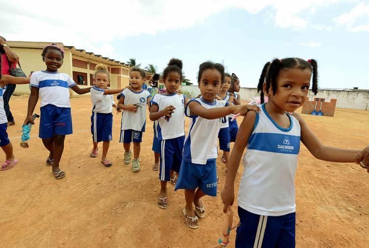 Programa beneficia crianças em idade de creche e pré-escola - Foto: Valter Pontes l Agecom