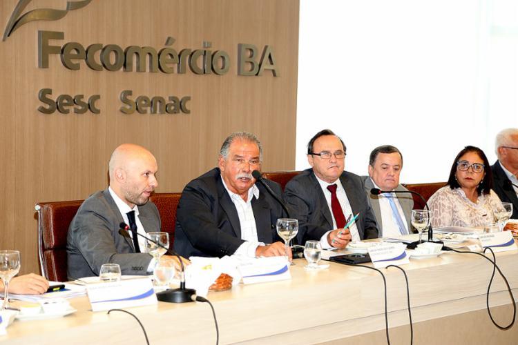 Evento discutiu as perspectivas econômicas - Foto: Fecomércio l DIvulgação