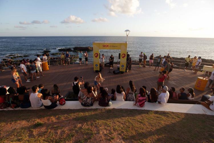 Apresentação no Mirante do Rio Vermelho será gratuita - Foto: Adilton Venegeroles | Ag. A TARDE