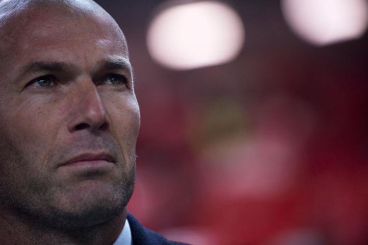 Zidane disse que Cristiano Ronaldo fez 12 gols no Campeonato Espanhol - Foto: Jorge Guerrero   AFP