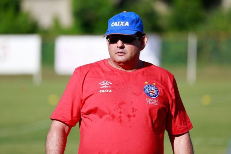 Guto é o preferido pela diretoria colorada para assumir cargo de treinador - Foto: Felipe Oliveira | EC Bahia