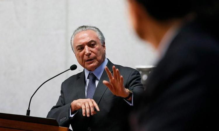 Temer quer mostra à sociedade que vai enfrentar e resistir à crise política - Foto: José Cruz | Agência Brasil