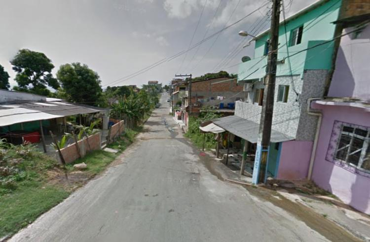 Crime aconteceu na rua Leandro Gomes, em Plataforma - Foto: Reprodução | Google Maps