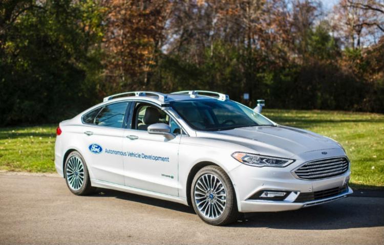 Protótipo do Fusion - Foto: Divulgação Ford