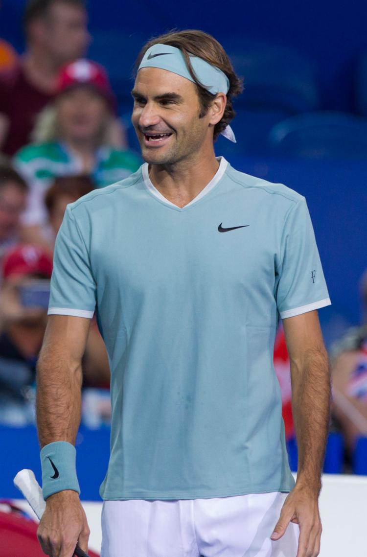 Federer liderou vitória da Suíça na Copa Hopman - Foto: Tony Ashby | AFP