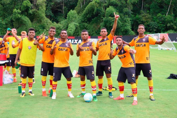 O time viaja nesta segunda, 2, para disputar a Copinha - Foto: Divulgação | EC Vitória