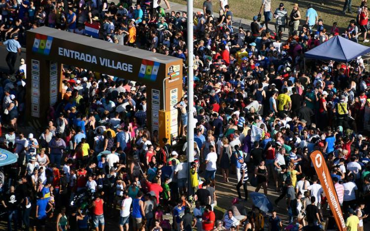 A chegada foi na Argentina - Foto: Franck Fife | Pool | AFP