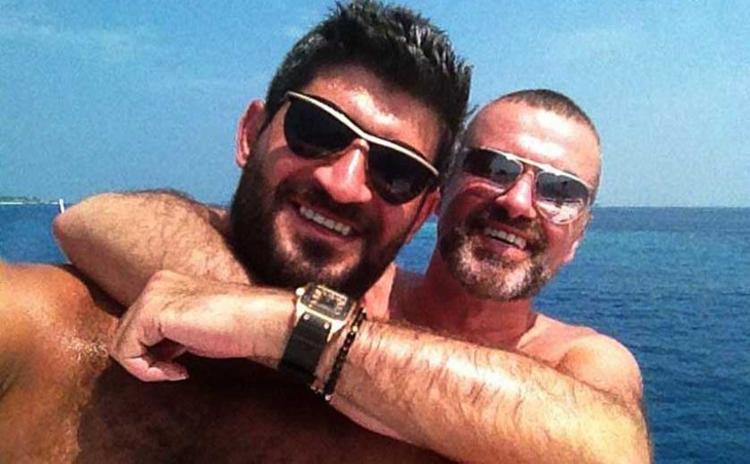 George Michael e o namorado, Fadi Fewas - Foto: Reprodução | Twitter