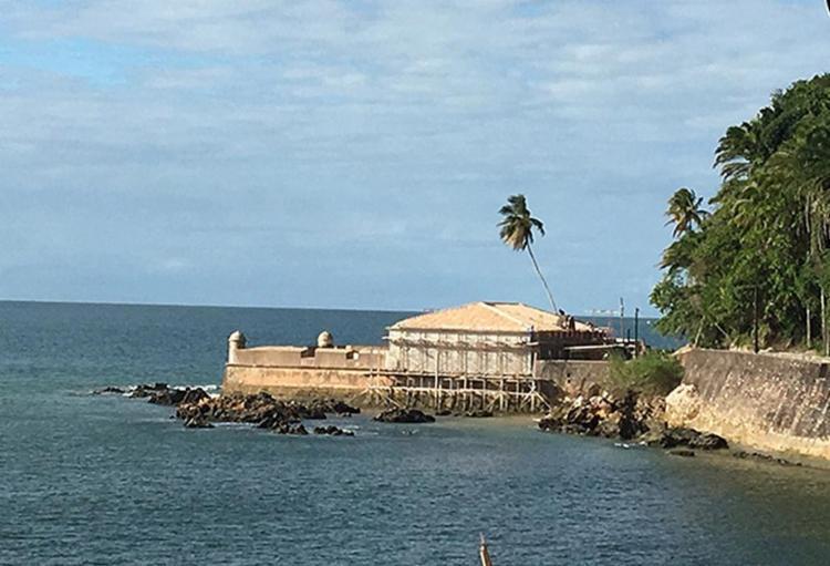 Construção histórica no balneário do baixo sul baiano é alvo de revitalização - Foto: Ana Coelho (Ipac) l Divulgação