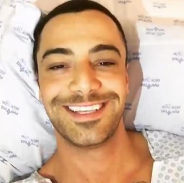 O ator tranquilizou os fãs por redes sociais - Foto: Reprodução   Instagram