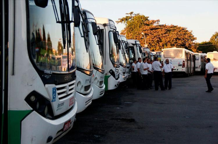O sindicado não informou o dia que poderá acontecer o protesto dos rodoviários - Foto: Joá Souza | Ag. A TARDE