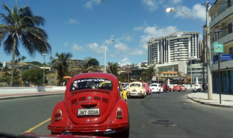 Fuscarreata deu mais cor as ruas de Salvador - Foto: Lívia Oliveira | Ag. A Tarde