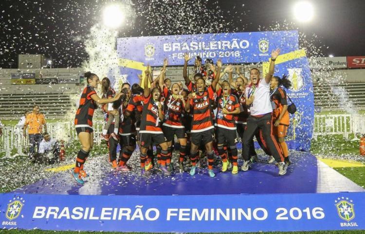 Celebração na final de 2016 - Foto: Ricardo Stuckert | CBF | Divulgação