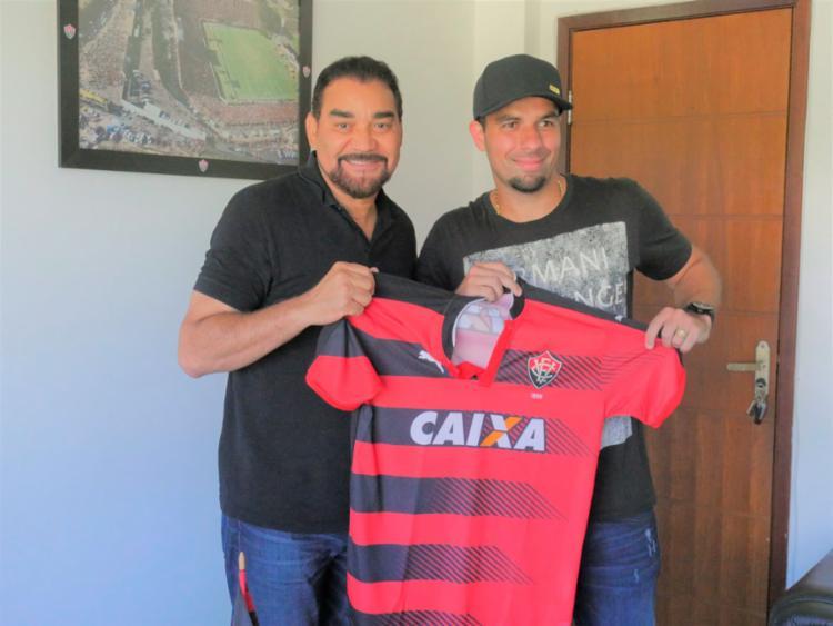 André Lima chega para disputar uma vaga no comando de ataque do Leão - Foto: R Santin | EC Vitória