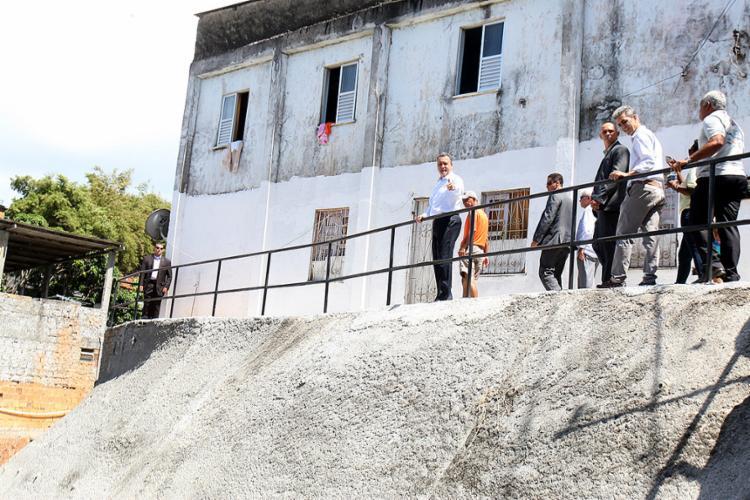 Governador entregou as obras na manhã desta segunda-feira, 23 - Foto: Edilson Lima l Ag. A TARDE