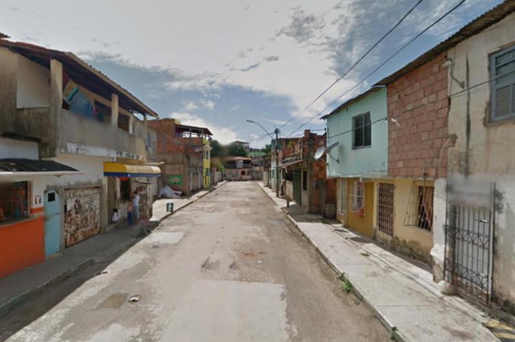 Festa foi no bairro de Itinga, em Lauro de Freitas, na Região Metropolitana de Salvador - Foto: Reprodução | Google Maps