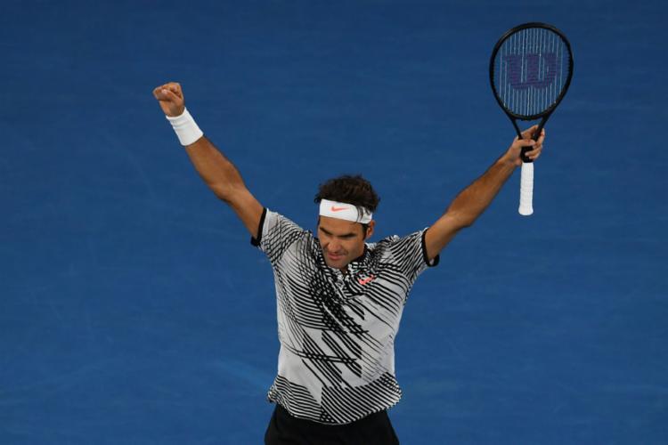 Federer bateu Zverev por 3 sets a 0 - Foto: Greg Wood | AFP