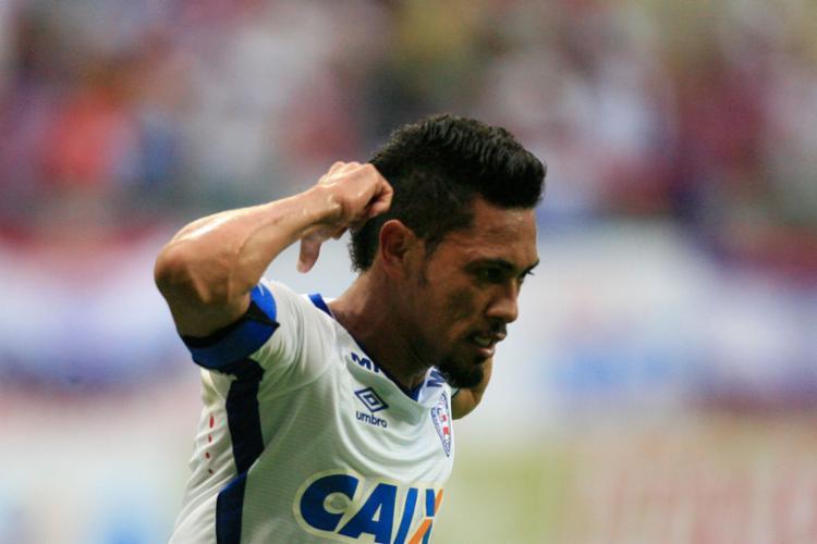 Hernane foi o artilheiro do Bahia na temporada passada com 21 gols - Foto: Lúcio Távora | Ag. A Tarde