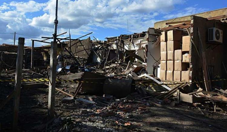 Explosão aconteceu na tarde desta terça-feira, 24 - Foto: Blog do Anderson