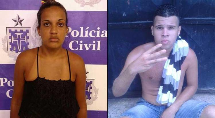 Cássia Kelly Conceição Vieira e Joelbson Alves Rocha - Foto: Divulgação   SSP-Ba