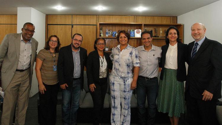 Participantes do programa estiveram na sede do Jornal A TARDE - Foto: Adilton Venegeroles l Ag. A TARDE