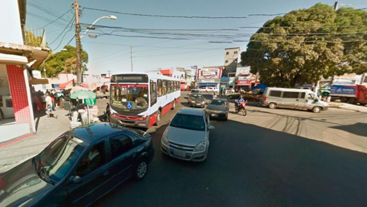 Os passageiros tinham que descer no Largo do Tamarineiro - Foto: Reprodução | Google Maps