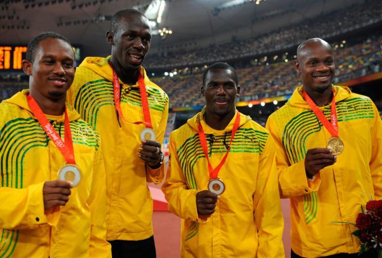 Nesta Carter foi pego no doping e perdeu o ouro - Foto: Fabrice Coffrini   AFP