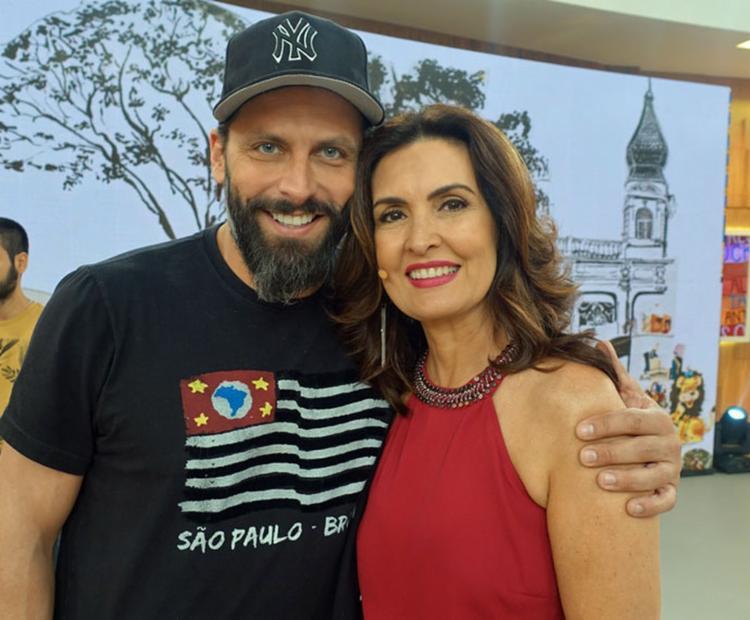 Henri Castelli apoio o comentário de Fátima - Foto: Priscilla Massena | Gshow | Divulgação