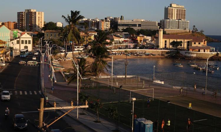 Perseguição aconteceu na região da praia da Paciência, no Rio Vermelho - Foto: Joá Souza | Ag. A TARDE
