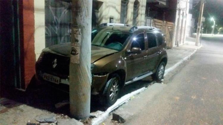 Bandidos foram interceptados após bater carro no Rio Vermelho - Foto: Divulgação