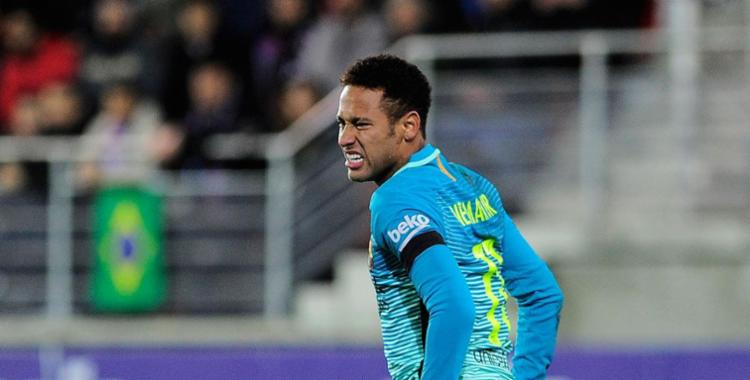 Neymar é acusado de cometer fraude fiscal - Foto: Ander Gillenea | AFP