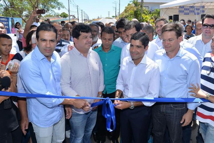 ACM Neto durante inauguração da nova ligação viária - Foto: Divulgação | Secom