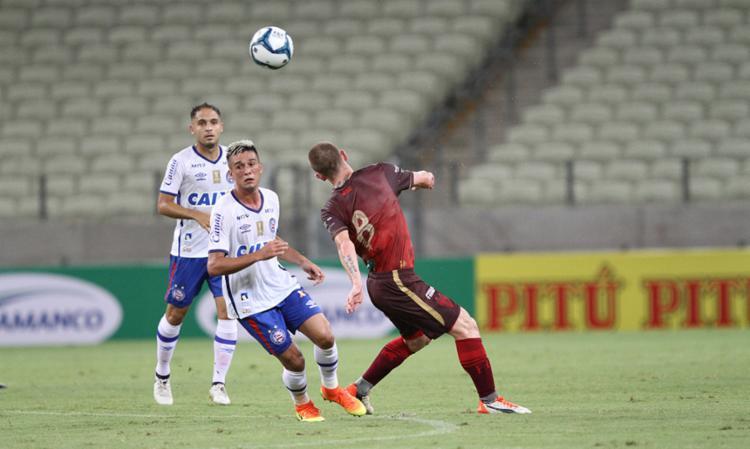 Juninho foi expulso aos 38 minutos do primeiro tempo - Foto: Mateus Dantas | O POVO