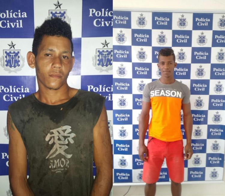 Cleidiel e Ronaldo foram presos nesta sexta-feira, 27, acusados de estupros em cidades diferentes - Foto: Divulgação   Polícia Civil