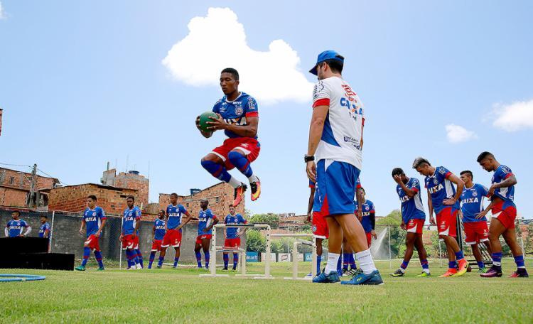 Mário sofreu lesão no início do ano e pouco jogou em 2016 - Foto: Felipe Oliveira | EC Bahia