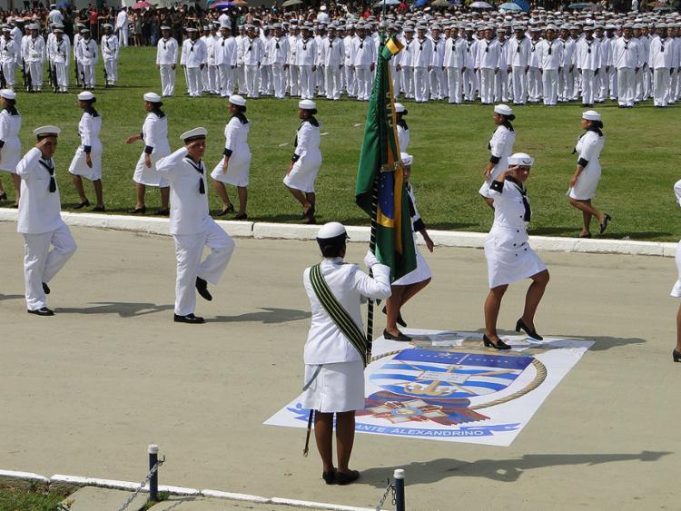 A Marinha tem vagas para o serviço militar e para a escola de aprendiz de marinheiro - Foto: Marinha l Divulgação