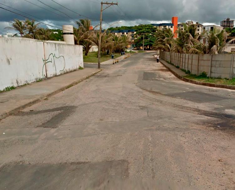 Crime aconteceu na Rua Catarina Fogaça - Foto: Reprodução   Google Maps