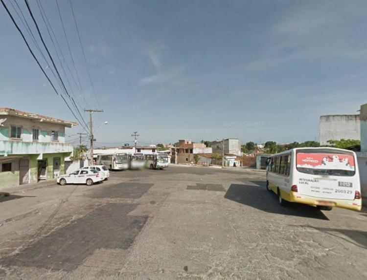 Crime aconteceu no fim de linha do bairro de Fazenda Grande IV - Foto: Reprodução | Google Maps