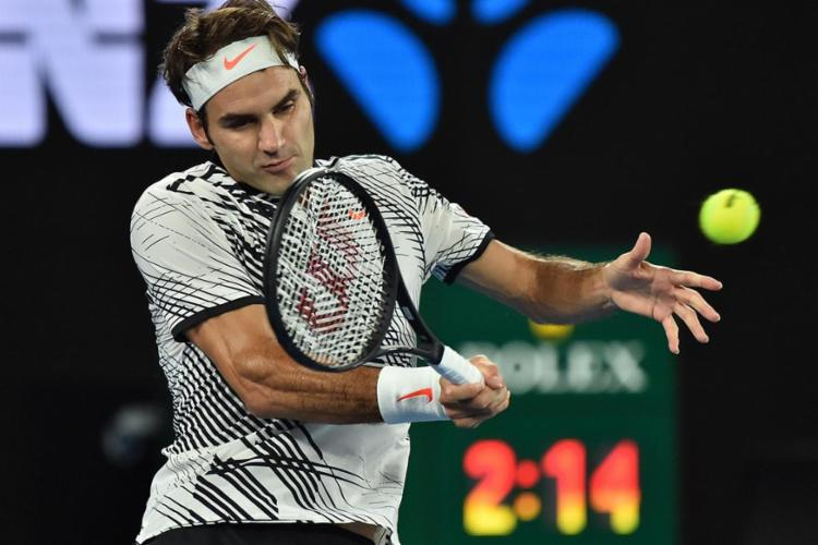 Roger Federer venceu após passar um tempo afastado por conta de uma lesão no joelho - Foto: Peter Parks | AFP