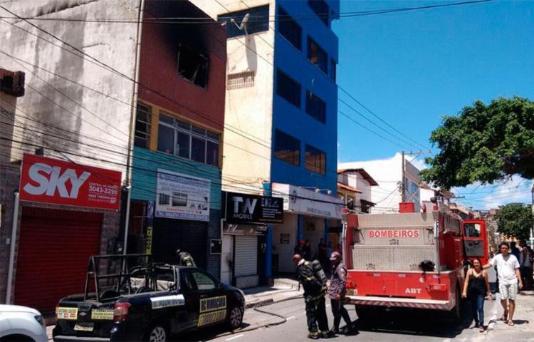 Menino foi resgatado sem ferimentos - Foto: Luciano da Matta | Ag. A TARDE