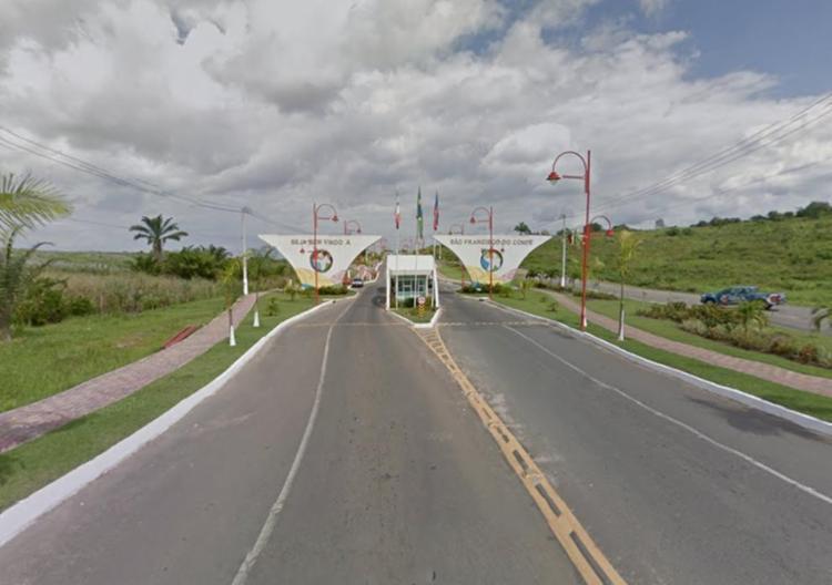 Crime aconteceu no Caípe de Baixo, em São Francisco do Conde - Foto: Reprodução | Google Maps