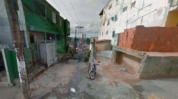 O crime aconteceu na rua Jaguarari, em Cosme de Farias - Foto: Reprodução   Google Maps