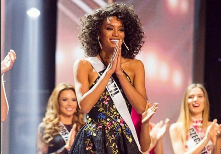 Raíssa Santana ficou entre as 13 finalistas mas não levou a coroa - Foto: Reprodução   Instagram