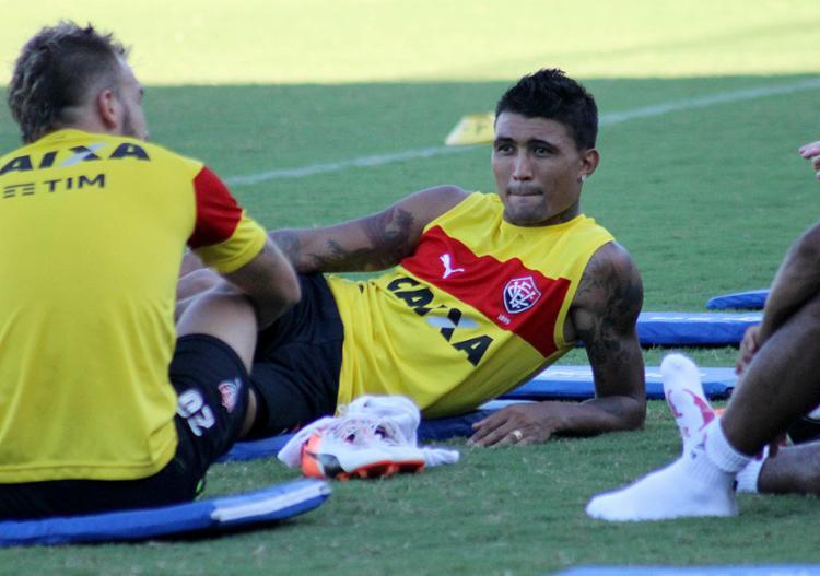 Com três gols em dois jogos, Kieza vive boa fase no Leão - Foto: Maurícia da Matta l EC Vitória