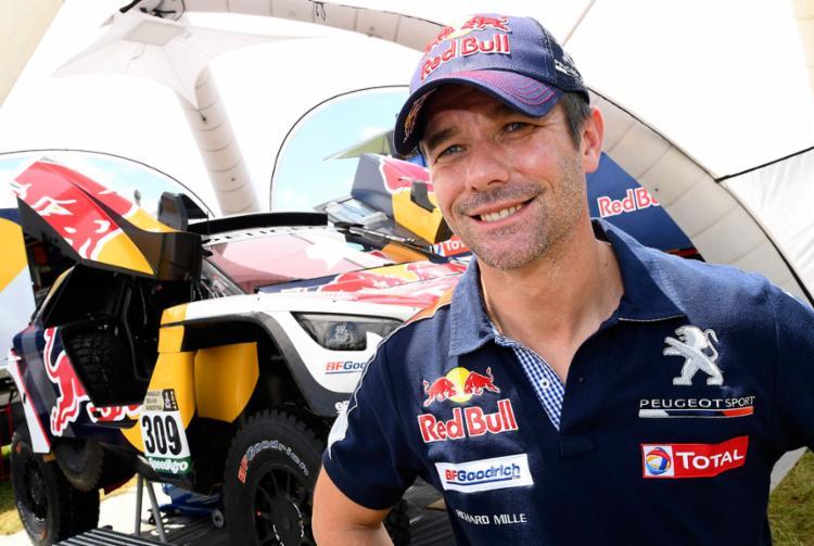 Loeb vai tentar o título do Rally Dakar pela primeira vez - Foto: Franck Fife | AFP