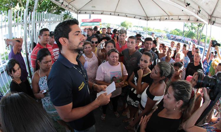 Dez corpos foram liberados para retirada pelas famílias - Foto: Arthur Castro | Em Tempo/AM