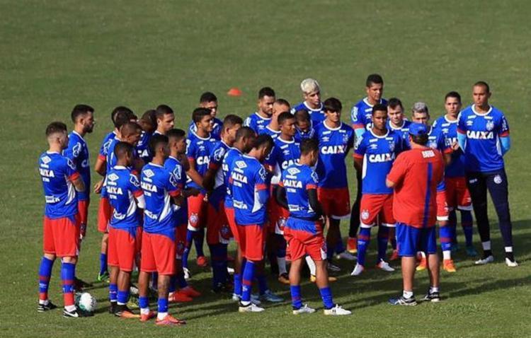 O Bahia participará de um torneio internacional importante e significativo. Bom para a divulgação da marca - Foto: Felipe Oliveira l EC Bahia