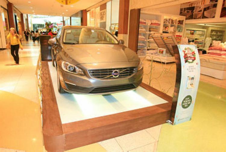 Salvador Shopping vai entregar os Volvo S60 - Foto: Luciano da Matta